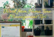 A work from home job can mean lots of distractions. You have to have a good grasp on these time management tips in order to be successful!Organization Tips | Organization Hacks | Time Management Hacks | Work from Home Tips | How to Manage Time