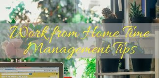 A work from home job can mean lots of distractions. You have to have a good grasp on these time management tips in order to be successful! Organization Tips | Organization Hacks | Time Management Hacks | Work from Home Tips | How to Manage Time