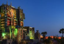 Guardians of The Galaxy-Mission: Breakout! Will be the first ride at California Adventure to have a Halloween overlay during the 2017 season.