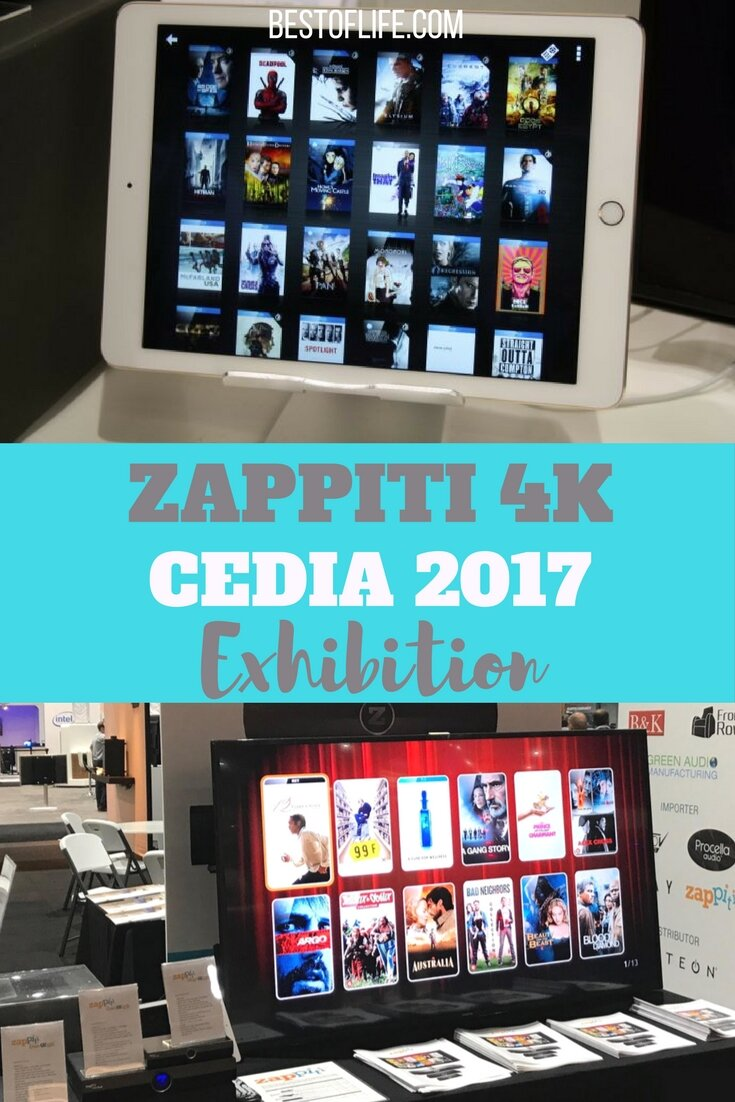 Zappiti 4K media players and tools will all be on display the CEDIA Expo 2017 in San Diego California from Sept. 7-9 2017.