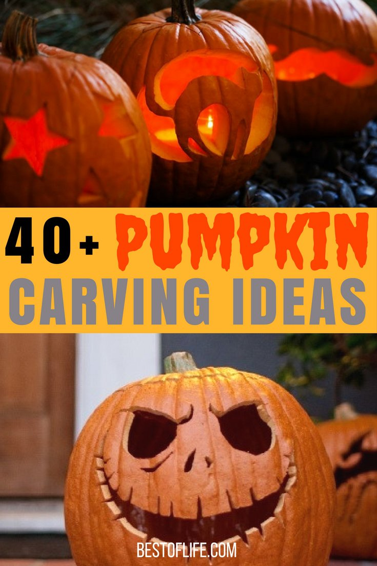 Pumpkin carving ideas for halloween the best of life best