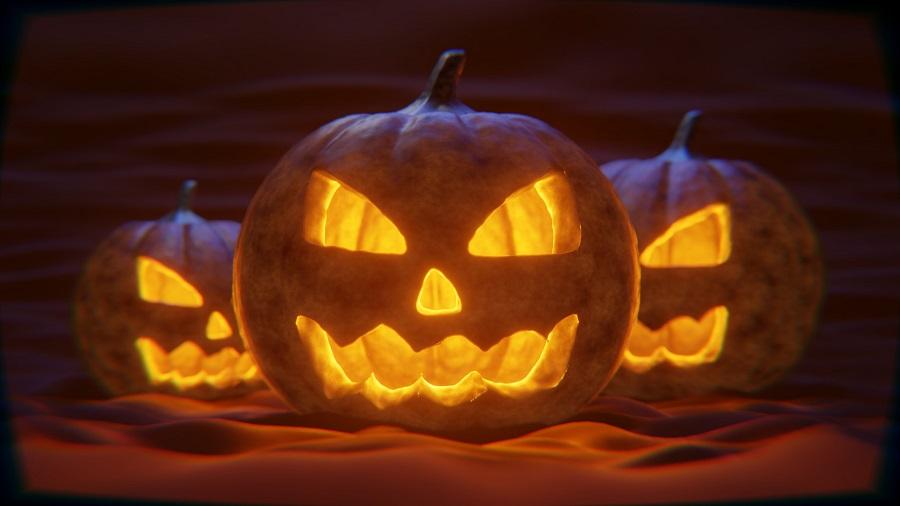 Pumpkin Carving Ideas for Halloween Close Up of Jack o Lanterns