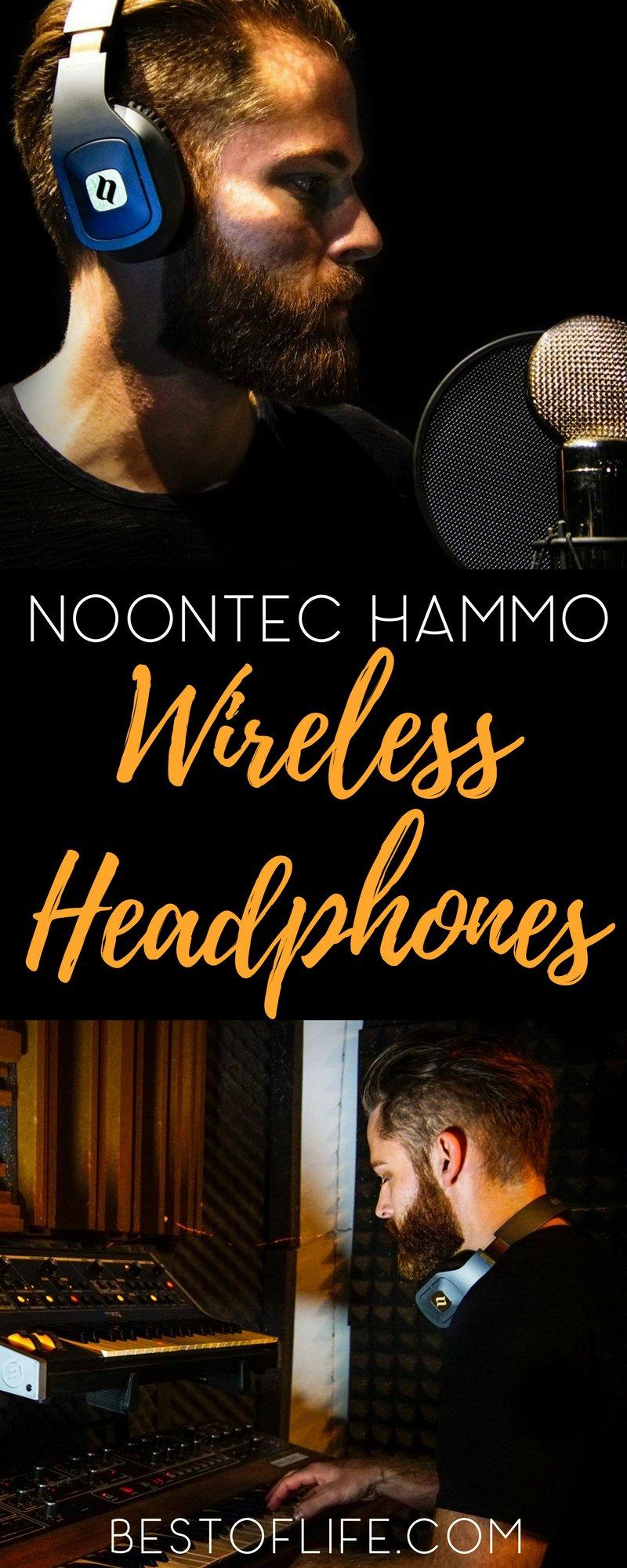 When it comes to providing a great way to listen to music the way it should be heard Noontec Hammo Wireless Headphones succeeds. Best Headphones | Headphones | wireless Headphones | Bluetooth Headphones | Best Bluetooth Headphones | Best Tech | Tech Gifts | Noontec | Hammo Headphones