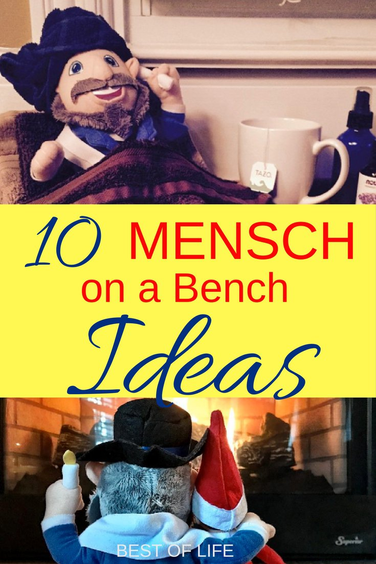 10 Mensch On A Bench Ideas For Hanukkah The Best Of Life