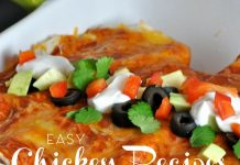 Easy chicken recipes come in many different flavors and sizes and can help make sure there is always a meal for dinner, even when there is no time left in the day. Easy Chicken Recipes | Easy Recipes | Chicken Recipes | Best Chicken Recipes | Best BBQ Chicken | Best Fried Chicken | Healthy Chicken Recipes | Easy Dinner Recipes | Best Dinner Recipes