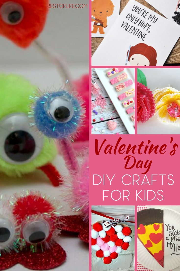 DIY Valentines Day crafts could help parents save money on cards and more during the celebration of love, friendship, and companionship. DIY Crafts | Holiday DIY Crafts | Best DIY Holiday Crafts | Valentines Day Craft Ideas | Valentines Day Crafts for Kids | Best Valentine Craft Ideas via @thebestoflife