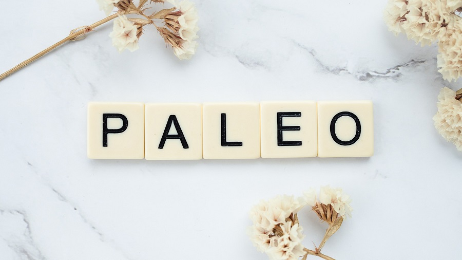 Easy Paleo Recipes Letter Tiles Spelling Out Paleo on a Marble Surface