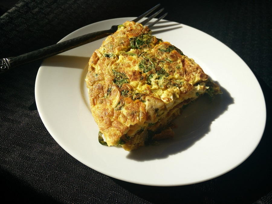 Easy Paleo Recipes Overhead View of an Egg Dish