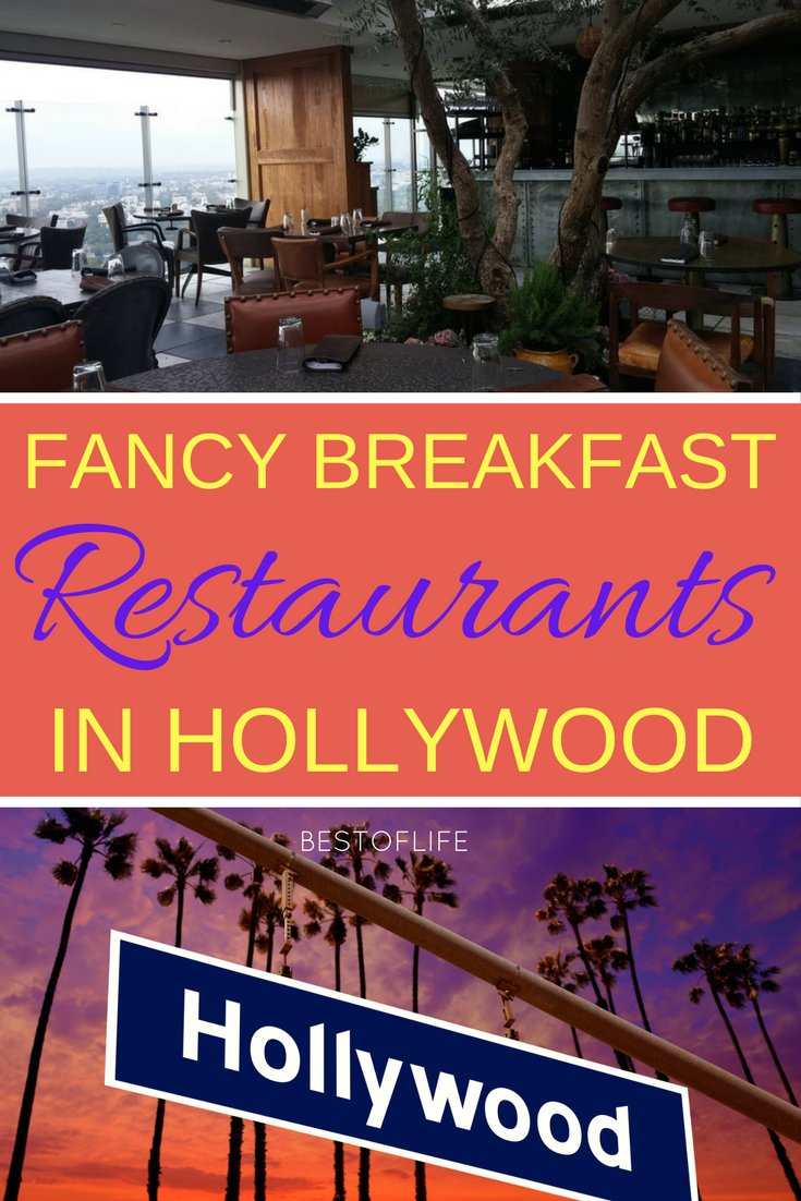 The best way to start your day in Hollywood is at one of the best fancy breakfast restaurants in Hollywood that will treat you like a celebrity. Fancy Breakfast in Hollywood | Fancy Breakfast in SoCal | Fancy Brunch in Hollywood | Best Breakfast in Hollywood