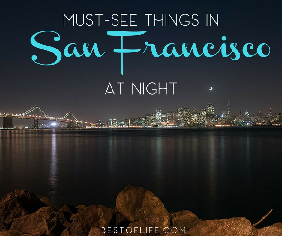 Visiting San Francisco at night gives us all a new perspective on the beauty and art that fills the city all year long. Best Things to do in San Francisco   Things to do in San Francisco at Night #sanfrancisco #california #thingstodo #Traveltips #SanFran