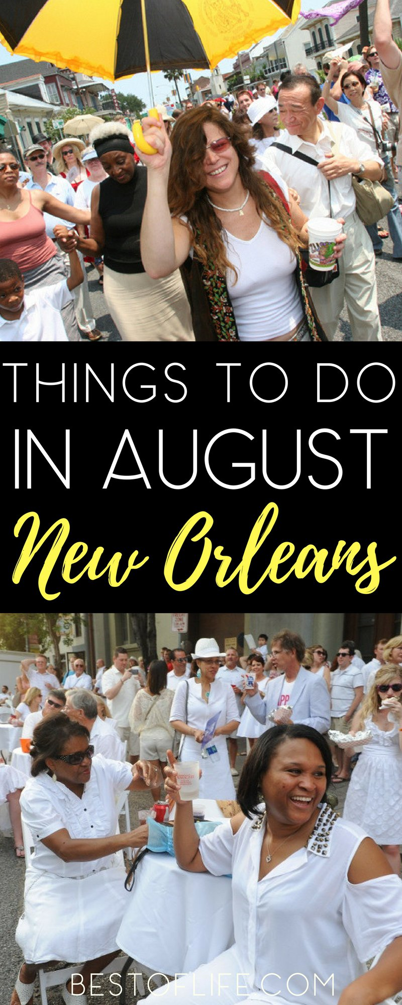 Looking for things to do in New Orleans August 2017 is as easy as finding things to do any other time of year in NOLA. You just need to go outside. Things to do in New Orleans | What to do in New Orleans | Best Things to do in New Orleans | Popular New Orleans Events