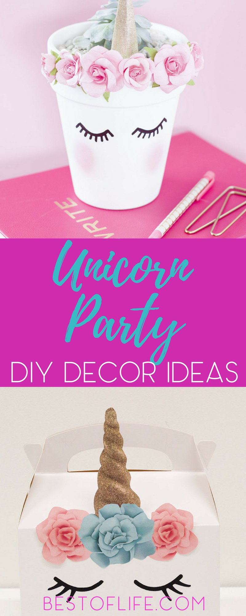 15 Unicorn Birthday Party Decorations to Make a Party