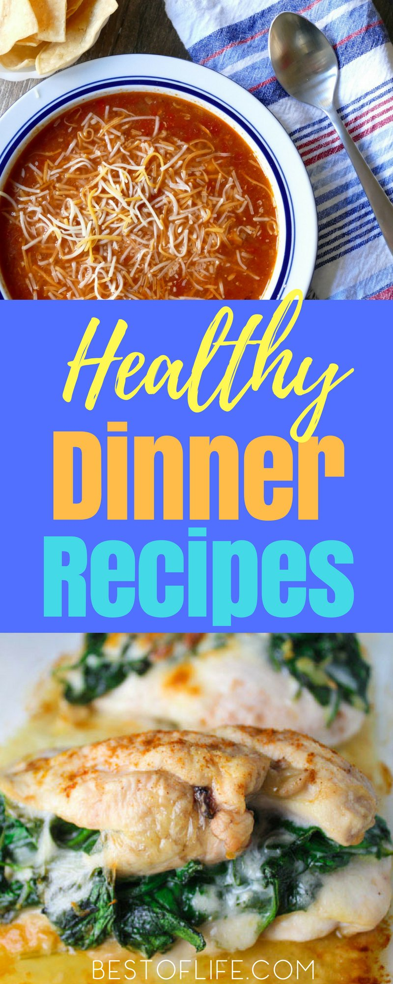 The best healthy dinner recipes will not only make cooking easier and tastier, they will also help make weight loss easier. Best Dinner Recipes for Weight Loss | Weight Loss Dinner Recipes #healthyrecipes #weightloss #weightlossrecipes #dinnerrecipes #easyrecipes