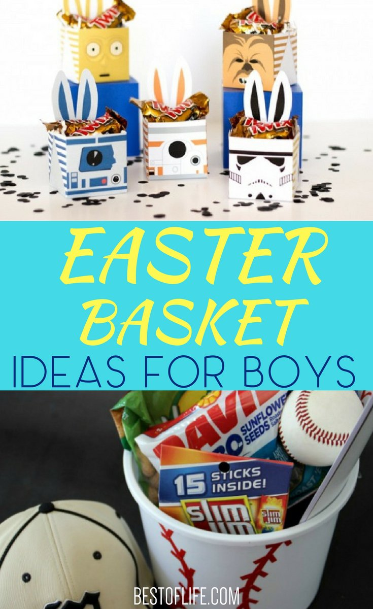 Easter basket ideas for boys toddlers and up to teens the best finding the best easter basket ideas for boys will help the easter bunny fill and present negle Gallery