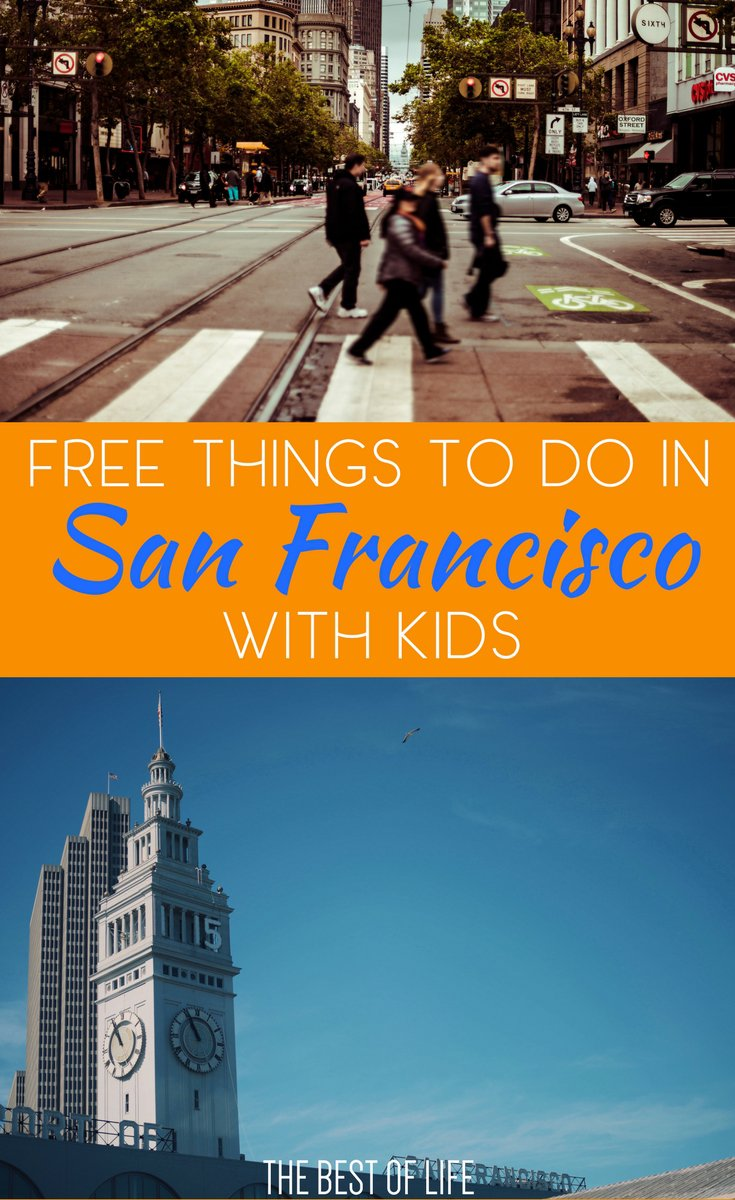 There are so many free things to do with kids in San Francisco that can fill a day, weekend, or more with family memories and fun. Things to do in California | Free Things to do in California | San Francisco Travel Tips | Family Travel to San Francisco | Free Things to do with Kids in San Francisco via @thebestoflife