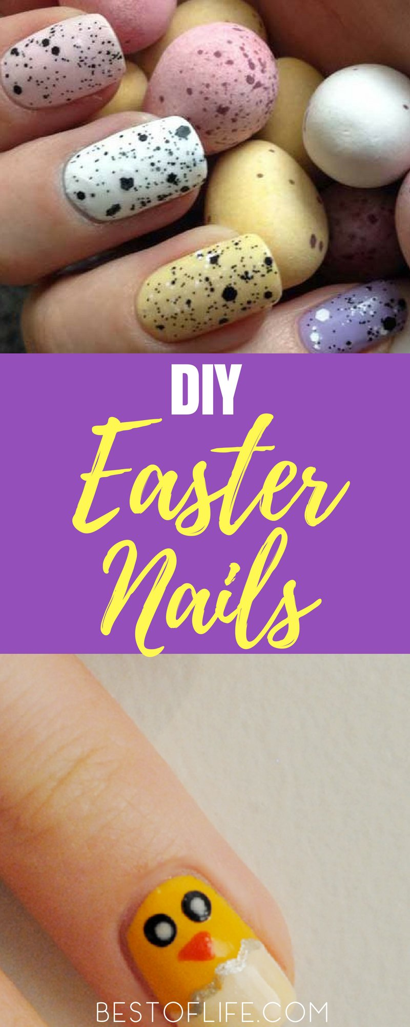 The best Easter nails can be designed to fit your personality, Easter outfit, or just help you get in the spirit of the holiday. Even better, most are easy nail designs. Easter Nail Ideas | Easter Nail Designs | Best Easter Nail Design Ideas | Easy Easter Nail Design Ideas | Fun Easter Nail Design Ideas