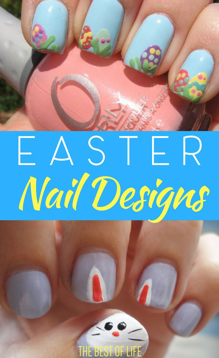 Easter Nails | Colorful Easter Nail Designs and Ideas - The Best of Life