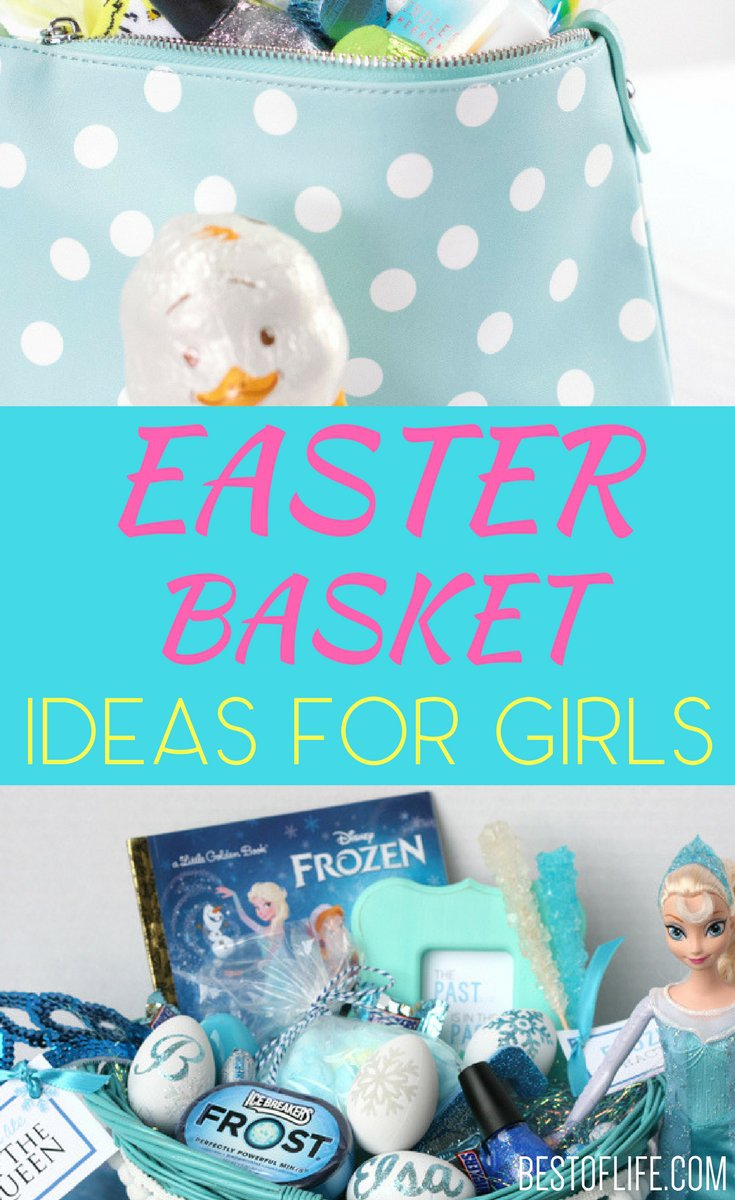 Finding the best Easter basket ideas for girls is easier when you have a little help from the experienced Easter bunny himself. Easter Basket Ideas | Easter Baskets for Girls | DIY Easter Basket Ideas | Best Easter Basket Ideas for Girls