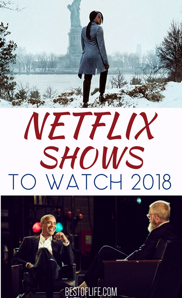 The best Netflix shows 2018 will take you to other worlds, times both future and past, and most importantly, will give you something to talk about with friends and family. Best Netflix Shows 2018 | Best New Netflix Shows | Best Things to Watch on Netflix | What to Watch on Netflix | Best Things to Stream via @thebestoflife