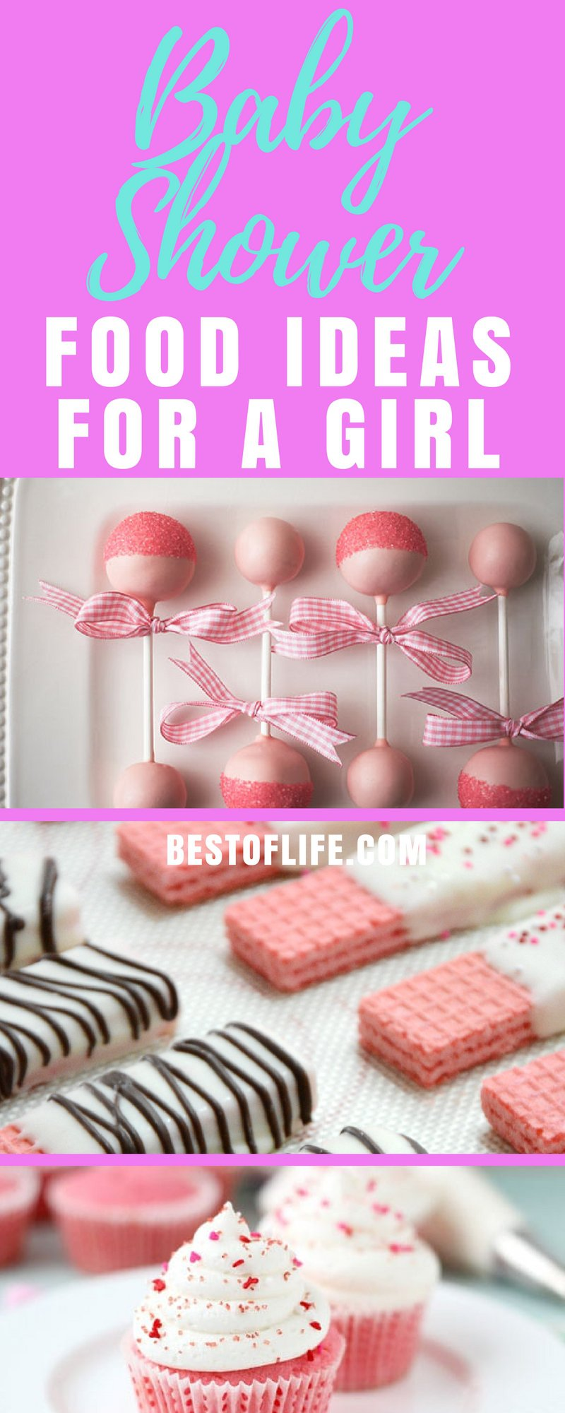 There are many things that make a baby shower even more memorable and baby shower food ideas for a girl are among the top three. Baby Shower Ideas | Best Baby Shower Ideas | DIY Baby Shower Ideas | Easy Baby Shower Ideas | Best Baby Shower Recipes | Easy Baby Shower Recipes