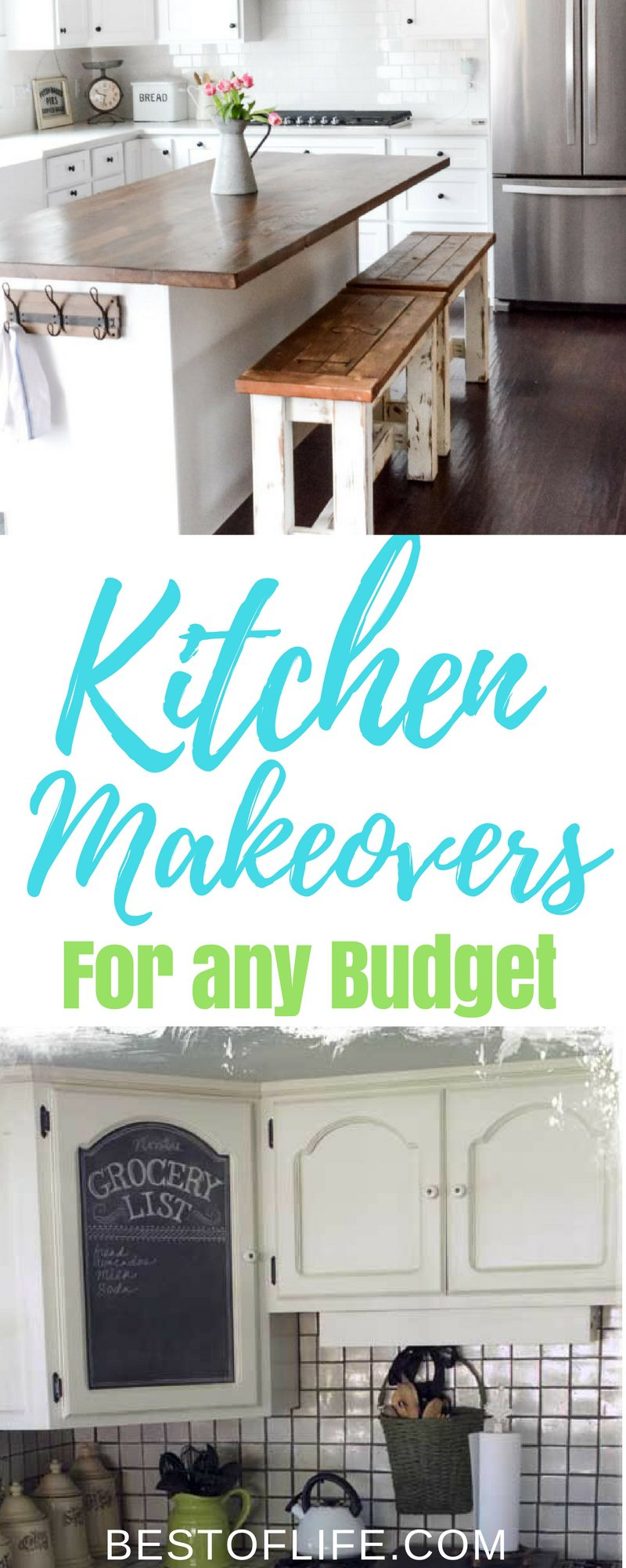There are plenty of DIY projects one can do in their home and kitchen makeover ideas are the perfect place to start when you want to spruce things up a bit. DIY Ideas | DIY Remodel Ideas | DIY Kitchen Ideas | DIY Home Makeover Ideas | Best DIY Kitchen Ideas | Easy DIY Kitchen Ideas | Cheap DIY Kitchen Ideas
