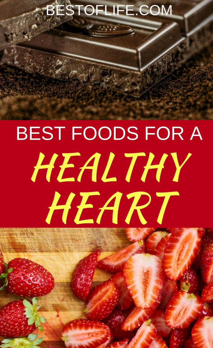 Do everything you can to make sure that your heart is happy by choosing the best foods to eat for heart health. Heart Healthy Foods | Healthy Foods | Best Foods for Heart Health | Best Healthy Foods | Heart Health Diet | Best Heart Healthy Foods via @thebestoflife