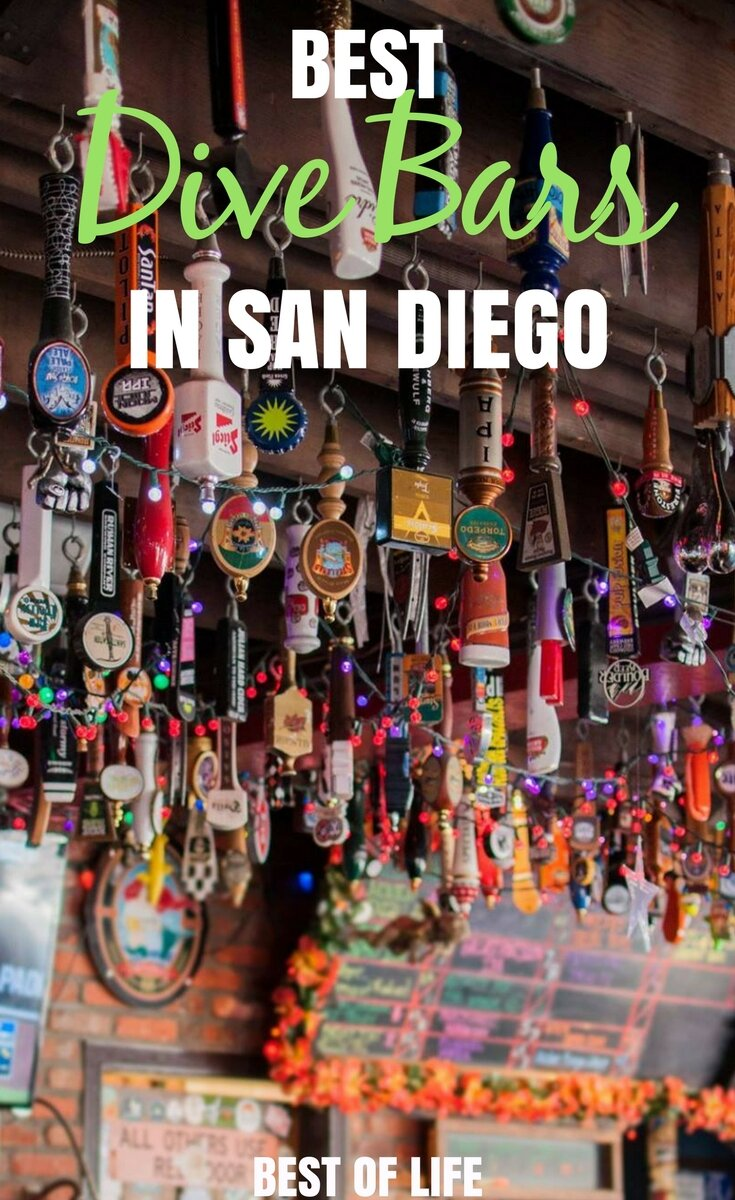 There is no need to worry about reservations or cover fees when you head out to the best dive bars in San Diego for a round or two of drinks with friends. Best Dive Bars in San Diego | Best Bars in San Diego | Where to Drink in San Diego | San Diego Travel Tips | Best San Diego Travel Tips | Cheap Bars in San Diego