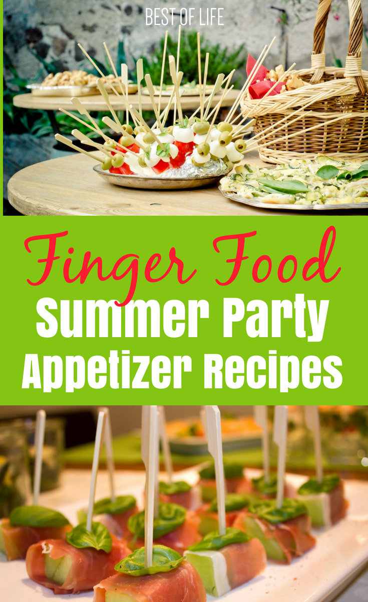 Find the best finger food appetizers to help keep everyone at your party happy and full as they celebrate whatever the occasion may be, even if it's just a summer Saturday. No matter what you're celebrating this summer or if you're looking for things to do in summer, parties are the way to go and the best summer recipes will help make them even better.