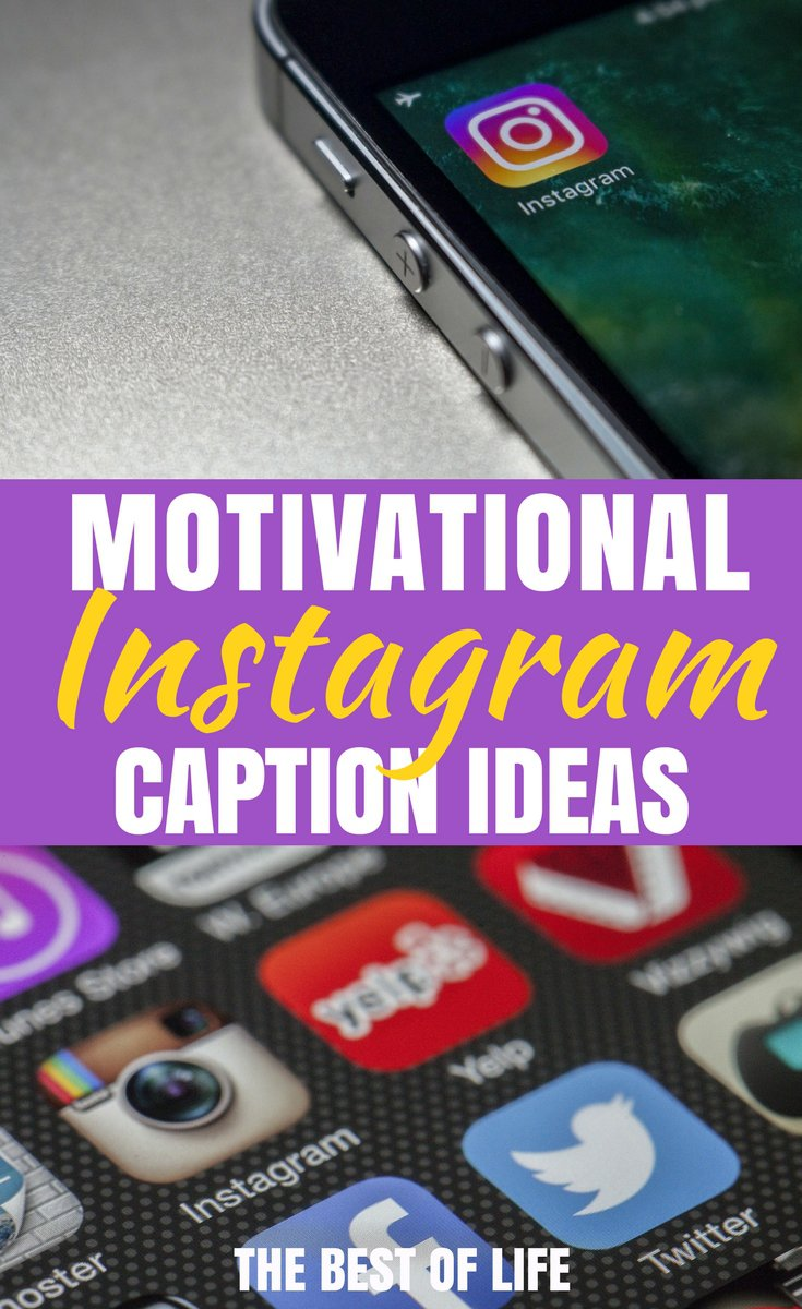 Sharing motivational Instagram captions is a great way to stay inspired and reach whatever goals you may have in life without breaking a sweat. Quotes | Best Quotes | Motivational Quotes | Best Motivational Quotes | Inspirational Quotes | Best Inspirational Quotes