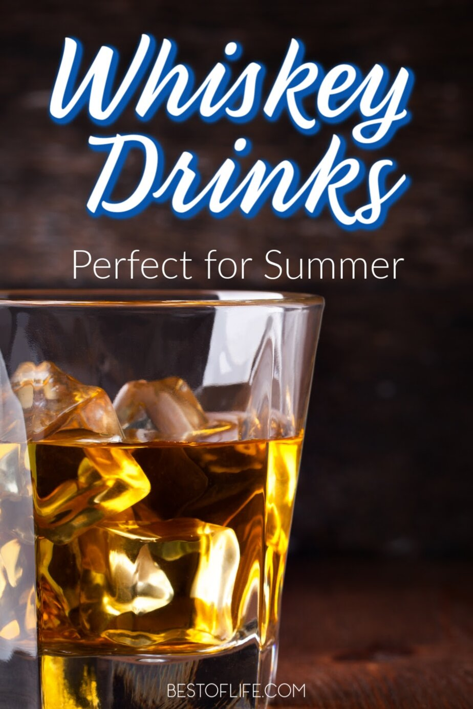 The best whiskey drinks for summer can open you up to a whole new world of whiskey cocktails that are refreshing and easy to make. Whiskey Cocktails | Best Whiskey Cocktail Recipes | Easy Whiskey Cocktail Recipes #whiskey #summer #cocktails via @thebestoflife