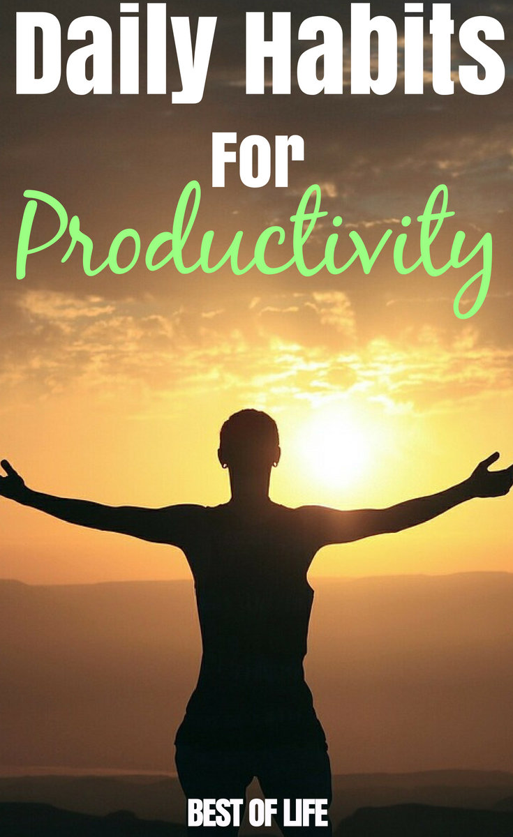 Applying daily habits for productivity to your life and help you optimize your time and achieve your goals both at home and work. Productivity Tips | Daily Habits | Work from Home Tips #productivity #lifetips #lifehacks