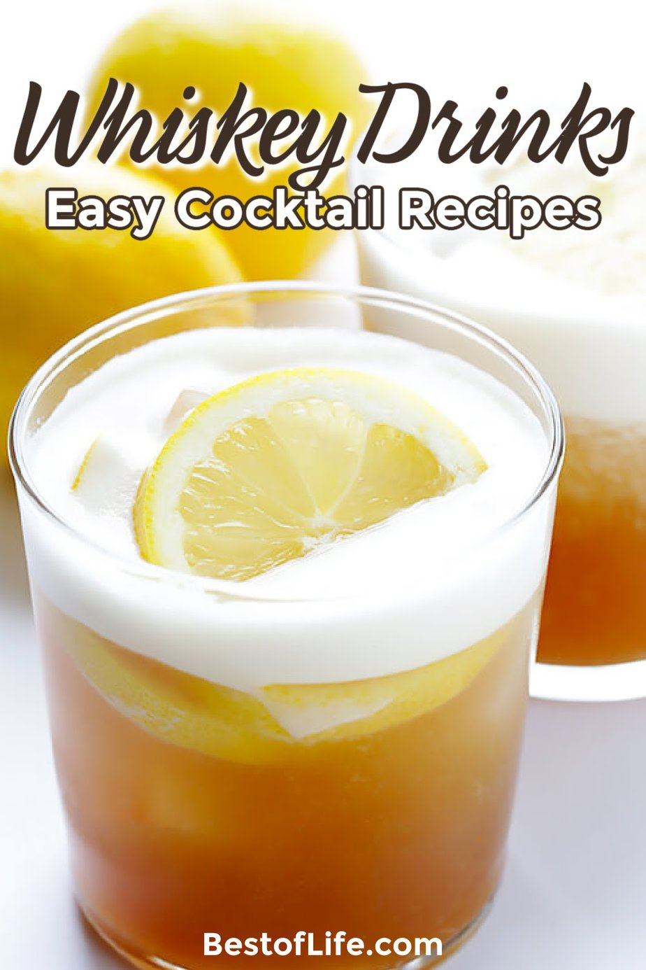 Learn how to enjoy whiskey more with some easy whiskey drinks that just about anyone can make and you may end up with a new favorite happy hour drink. Tips for Drinking Whiskey | Whiskey Drinks | Whiskey Cocktails | Happy Hour Recipes | Winter Cocktail Recipes | Party Cocktail Recipes | Party Drinks | Easy Cocktails #whiskeyrecipes #cocktailrecipes via @thebestoflife