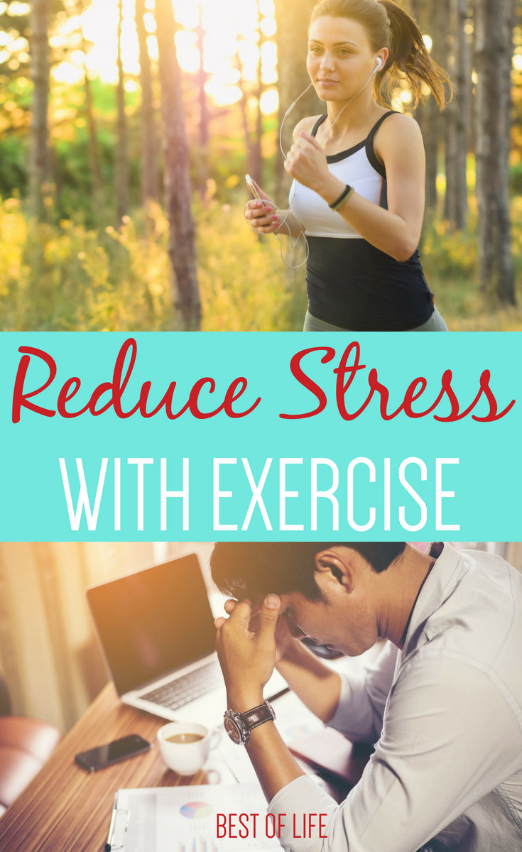 By understanding how exercise helps stress, you can be equipped to make healthy choices to manage your stress naturally. #exercise #healthyliving #stress | How to Relieve Stress | Benefits of Exercise | Stress Reducers