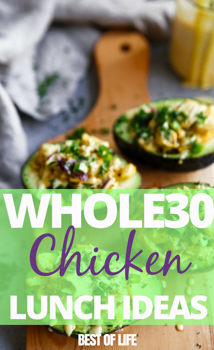 Whole30 chicken recipes are perfect for lunch, easy to make, and will kickstart your 30 days while keeping you on track. #whole30 #chicken #recipes | Whole30 Chicken Recipes | Whole30 Lunch Recipes | Chicken Recipes for Weight Loss | Weight Loss Recipes