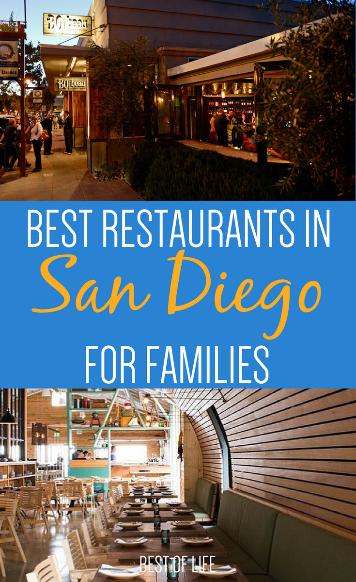 Eating out with kids at the best restaurants in San Diego can be carefree and fun for everyone in the family if you dine at the best restaurants in San Diego to go to with kids. #sandiego #restaurants #food | Best Restaurants in San Diego | Family-Friendly Restaurants in San Diego | Kid-Friendly Restaurants in San Diego