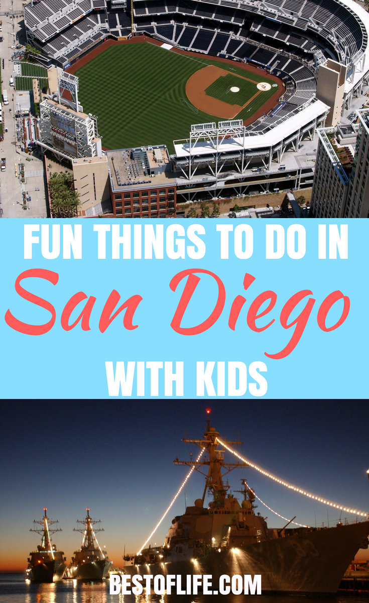 Experience all the best that San Diego County has to offer with this list of ten things you can't miss while visiting San Diego with kids. #sandiego #travel #thingstodo | Things to do in San Diego | Best San Diego Activities | San Diego Activities for Kids