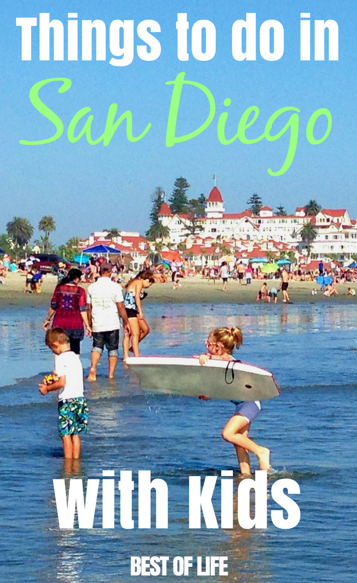 Experience all the best that San Diego County has to offer with this list of ten things you can't miss while visiting San Diego with kids. #sandiego #travel #thingstodo | Things to do in San Diego | Best San Diego Activities | San Diego Activities for Kids via @thebestoflife