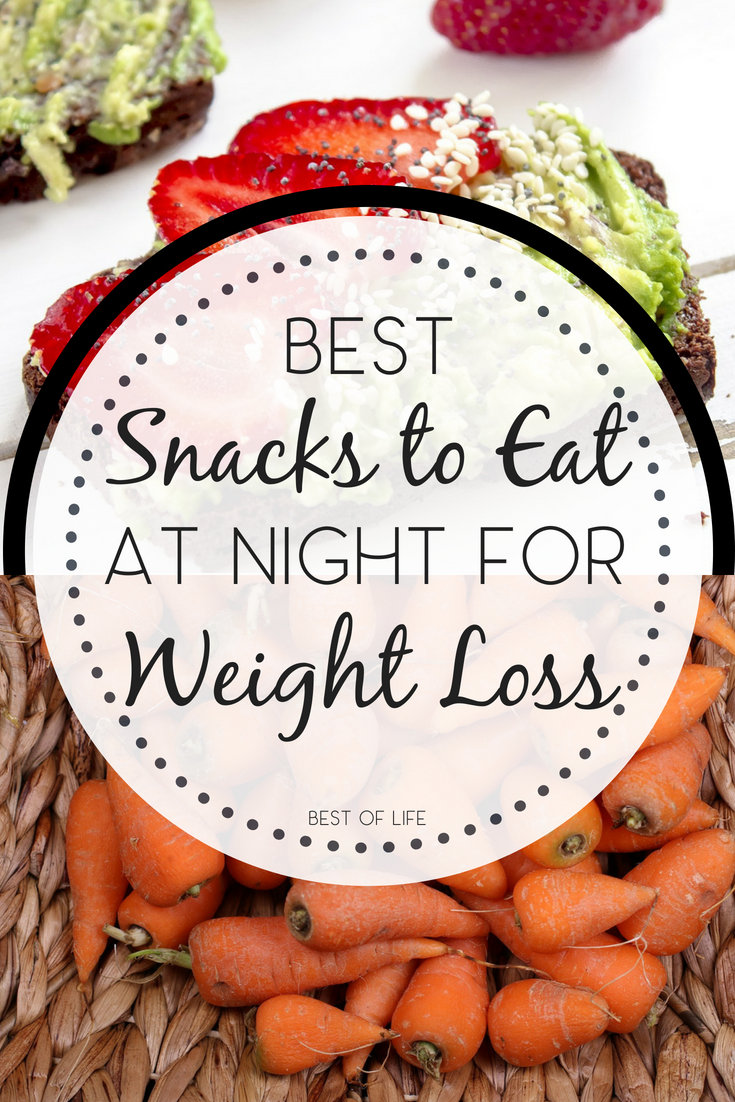 The best snacks to eat at night for weight loss will help you continue to lose weight and cure those hunger pains that could throw you off track. Healthy Late-Night Snacks | Weight Loss Recipes | Weight Loss Tips | Dieting Snacks #Snacks #healthyfoods #weightloss