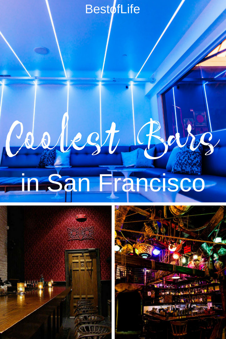San Francisco is full of things to do! While visiting, be sure to check out the coolest bars in San Francisco. Best Bars in San Francisco | Best Themed Bars in San Francisco | Where to Drink in San Francisco #sanfrancisco #bars #cocktail #happyhour via @thebestoflife