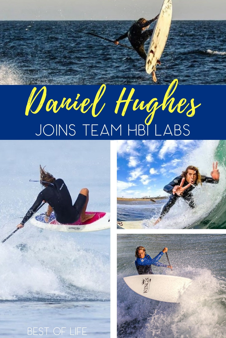 HBI Labs Inc has signed stand up paddleboard surf pro Daniel Hughes to their team of influencers and athletes. Stand Up Paddleboarding | Fitness News | Pro Stand Up Paddleboarding | Team HBI Labs | HBI Labs | Nutrition Supplements #SUP #TeamHBILabs