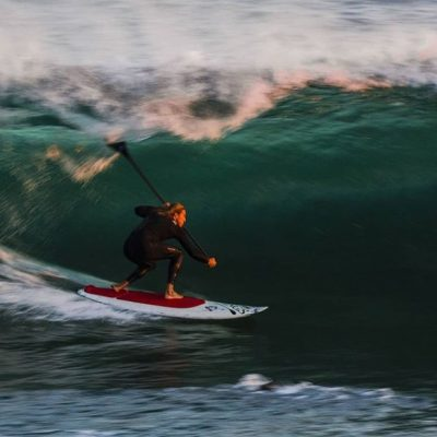 HBI Labs Signs Pro Stand Up Paddleboard Surfer Daniel Hughes