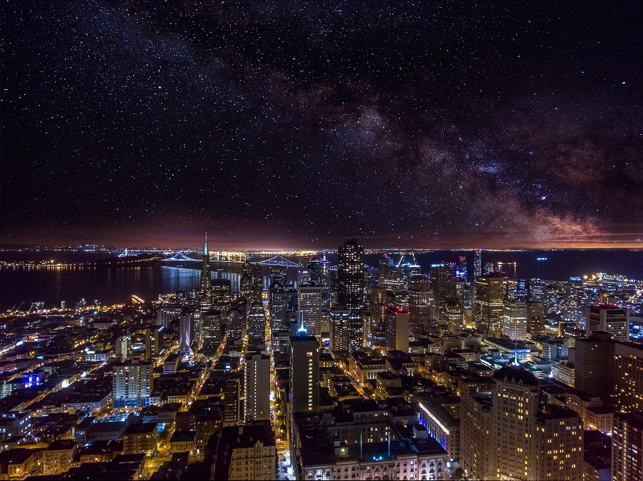 Seriously the Coolest Bars in San Francisco View of the Entire City at Night