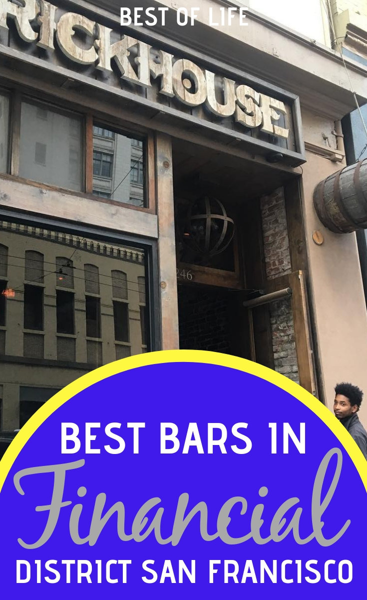 Head out for better drinks in the city at one of the best bars in San Francisco financial district, just don't forget to dress business casual. via @thebestoflife