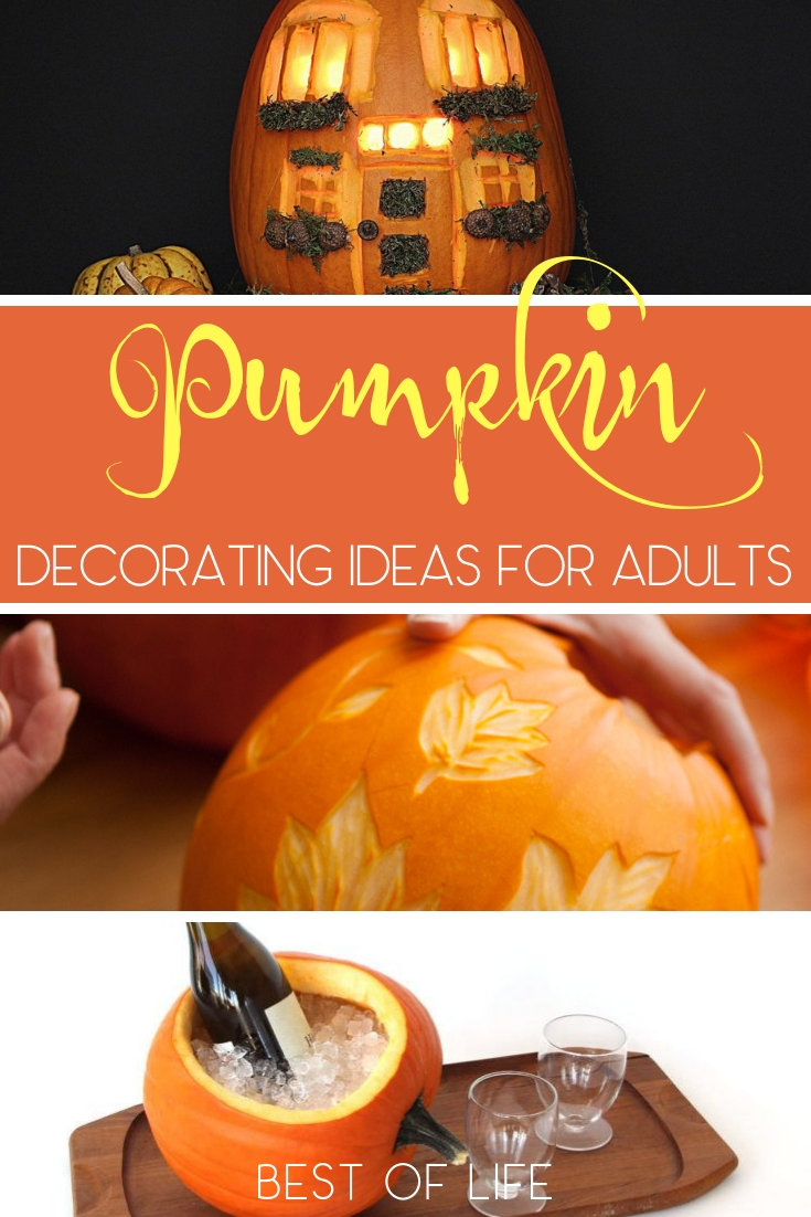 Use some easy DIY pumpkin decorating ideas for adults to impress anyone who dares visit your doorstep for some tricks or treats this Halloween. How to Carve a Pumpkin | Pumpkin Carving Ideas | DIY Pumpkin Carving | DIY Halloween Ideas |#halloween