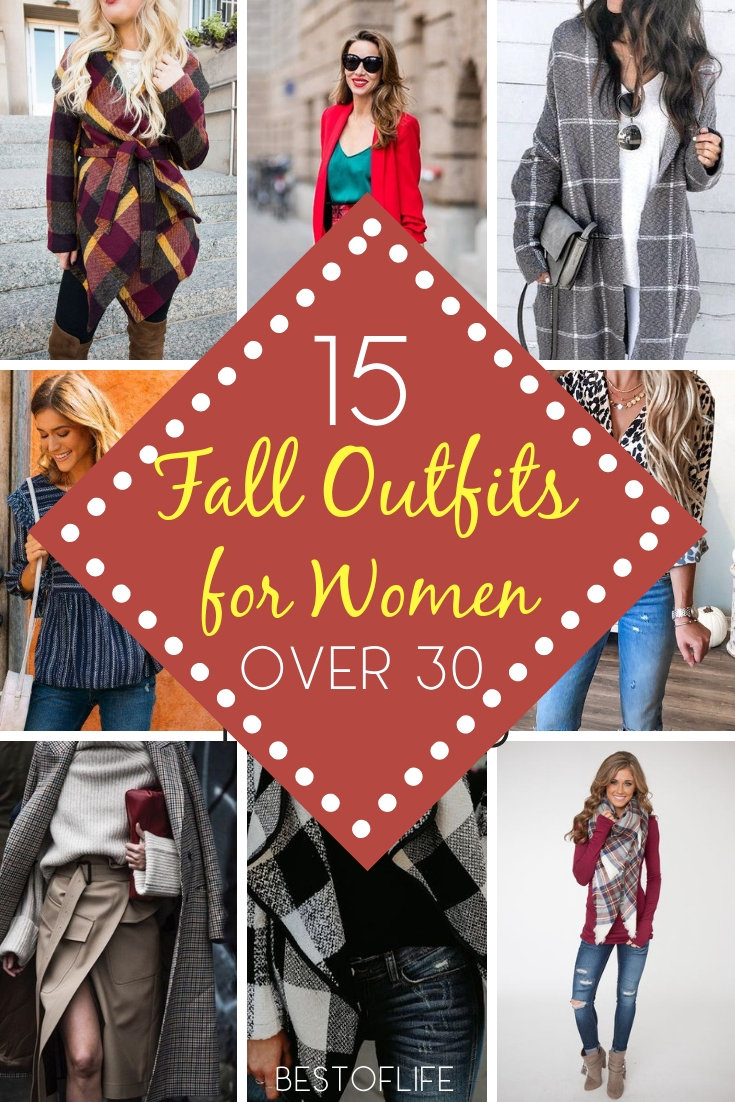 Get trendy and cozy with the most fabulous fall outfits for women over 30 and add your own twists to make it more you. 2018 Fall Fashion | Women's Fall Fashion | What to Wear this Fall | Fashionable Outfit Ideas #fashion #outfit #style #fall #2018trends