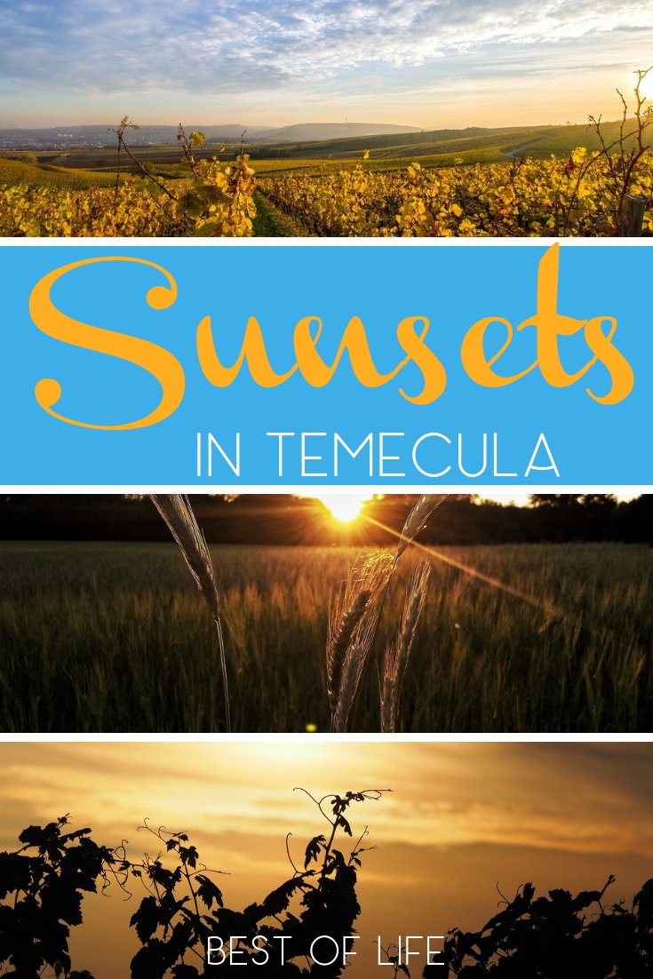 Watching the sunset in Temecula is the perfect way to end any night out in Southern California's very own wine country. Wineries in Temecula | Where to Watch the Sunset in California | Temecula Travel Tips #travel #temecula #wine via @thebestoflife