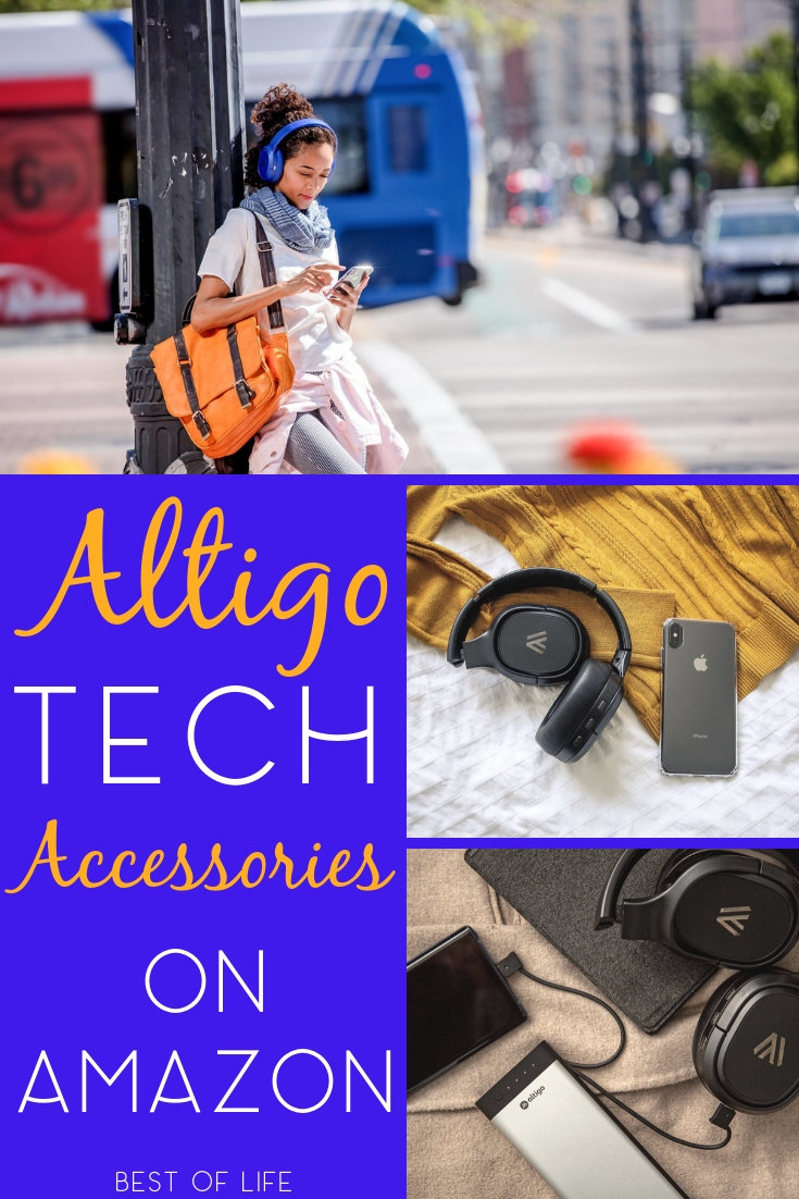 Altigo mobile accessories make the perfect tech gifts for anyone living a mobile lifestyle. Tech Gift Ideas | Tech Gifts 2018 | Gift Ideas 2018 | Gift Guide 2018 | Smartphone Gift Ideas | Teen Gift Ideas #gifts #tech