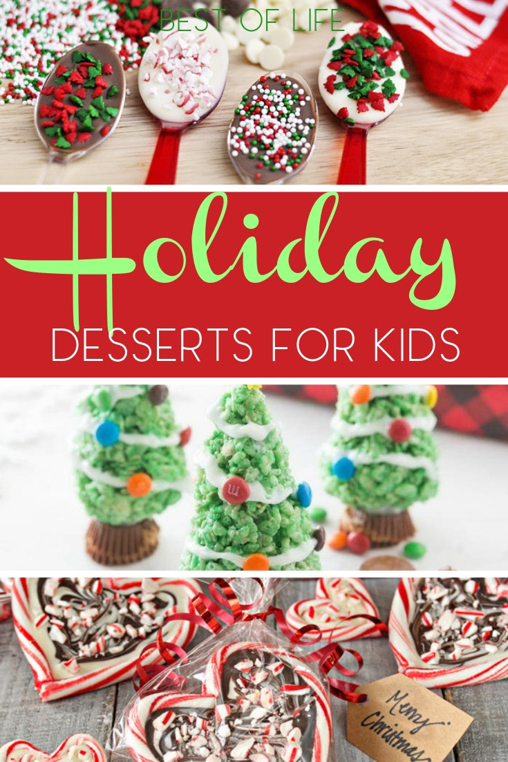 Holiday party food desserts for kids will not only fill your homes with amazing smells; they will also fill children with holiday joy. Holiday Dessert Ideas | Holiday Party Ideas | Holiday Party Food Ideas for Kids | Holiday Recipes for Kids | Holiday Desserts for Kids #holidays #recipes via @thebestoflife