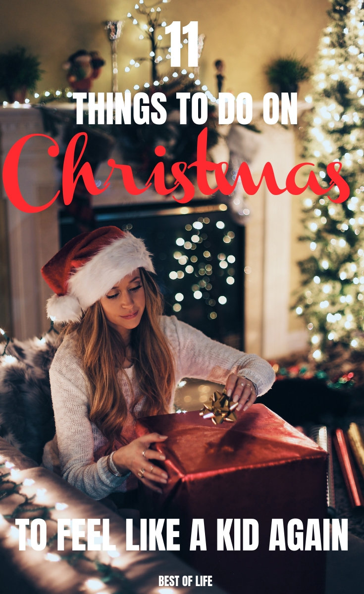 There are many things to do on Christmas morning, but only a few of them will make you feel like a kid all over again. Things to do On Christmas | Christmas Activities for Adults | Holiday Ideas | Christmas Ideas | Christmas Morning #Christmas #thingstodo