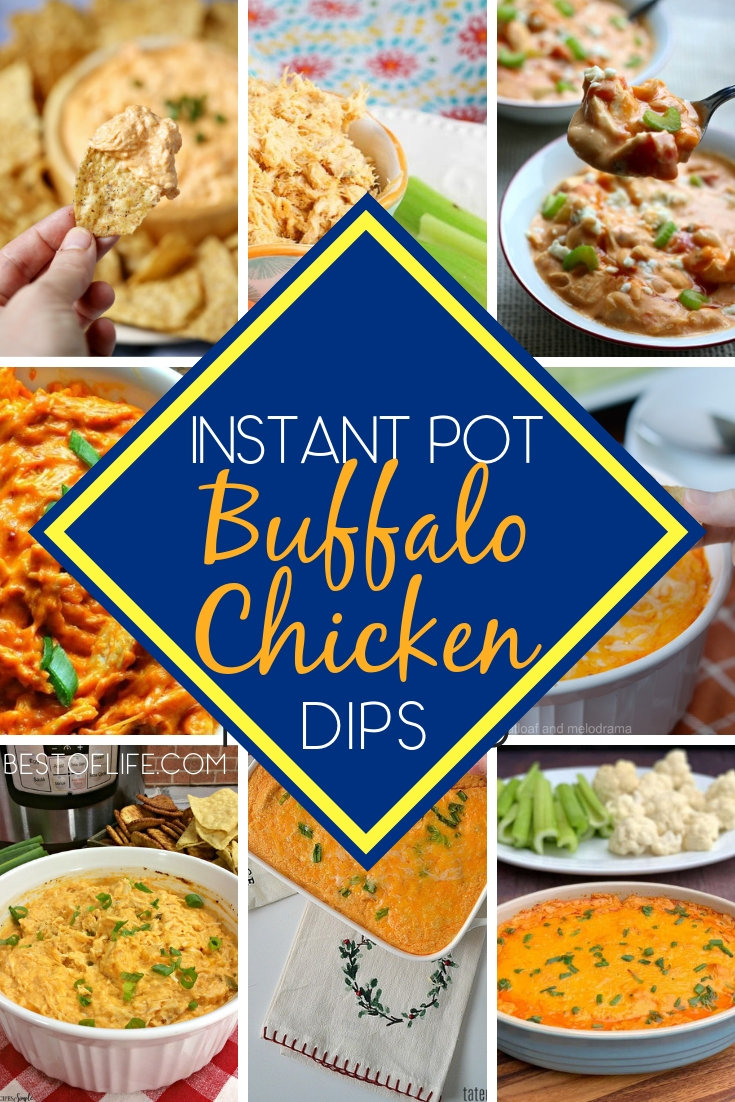 Use the best buffalo chicken dip instant pot recipes to turn your game day into a game day celebration to remember. Super Bowl Recipes | Super Bowl Instant Pot Recipes | Game Day Recipes | Buffalo Chicken Recipes | Buffalo Sauce Recipes #gameday #recipes via @thebestoflife